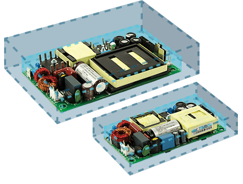 "2"" x 4"" and 3"" x 5"" Open Frame Power Modules"